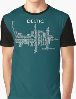 Deltic Names and Numbers Graphic T-Shirt