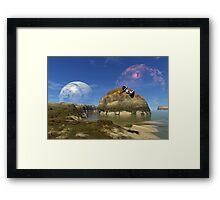Planet Mei Omei Framed Print