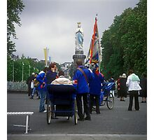 Sanctuary of Lourdes, France 2005 Photographic Print