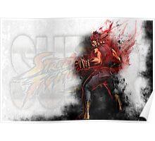 Super Street Fighter 4 - Raging Demon Poster