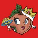 The Crown Peach by Ameda Nowlin