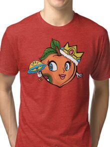 The Crown Peach Tri-blend T-Shirt