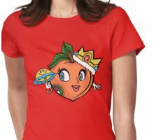 The Crown Peach Womens Fitted T-Shirt