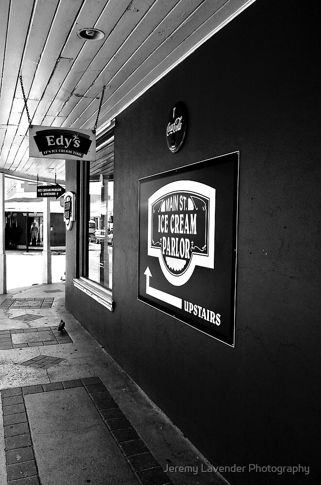 Main St. Ice Cream Parlor in Nassau, The Bahamas by Jeremy Lavender Photography