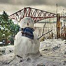Snowman - cropped by Tom Gomez