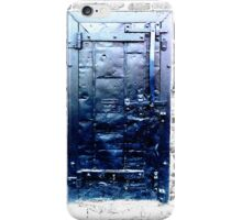 Dark Blue Door - artistic iphone case iPhone Case/Skin