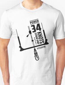Power 34 Knots Kitesurfing Light Unisex T-Shirt