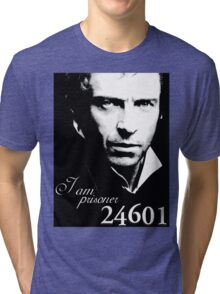 I AM PRISONER 24601 Tri-blend T-Shirt