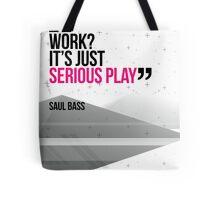 Creative Quote Design 002 Saul Bass Tote Bag