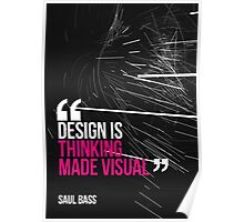Creative Quote Design 005 Saul Bass Poster