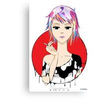 Semma Red Canvas Print