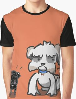 Happy Puppy Graphic T-Shirt