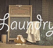 Laundry Room Sign by Edward Fielding