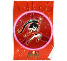 KIMIKO-XIAOLIN DRAGON OF FIRE Poster