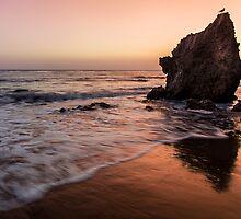 Sunset in Malibu, California. by Graham Gilmore