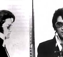 Elvis Mug Shot by Edward Fielding