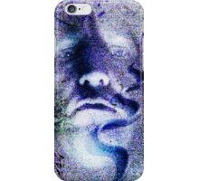 Purple Snake Face - artistic iphone case iPhone Case/Skin