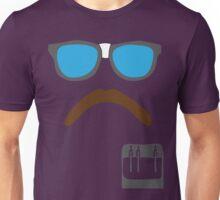 Defending Awesome - Moustache Series - Nerd Stash Unisex T-Shirt