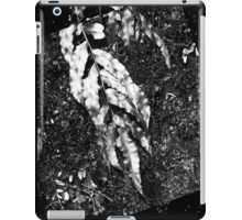 iPad case - Silver Leaf iPad Case/Skin