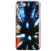 Abstract Lights, red, white & blue - artistic iphone case iPhone Case/Skin