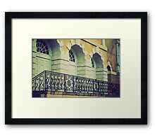 patriot building Framed Print