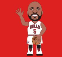 NBAToon of Carlos Boozer, player of Chicago Bulls by D4RK0