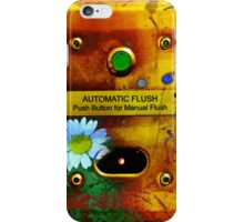 Automatic Flush - artistic iphone case iPhone Case/Skin