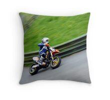 Prescott Speed Hill Climb - KTM KB Racing 590cc Throw Pillow