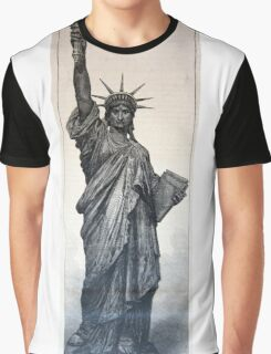 Statue of Liberty 1884 Graphic T-Shirt