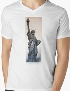 Statue of Liberty 1884 Mens V-Neck T-Shirt