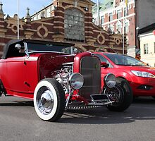red roadster by mrivserg