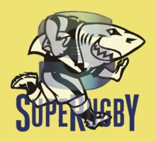 NATAL SHARKS SHARK ATTACK FOR SOUTH AFRICA RUGBY SUPER RUGBY Baby Tee