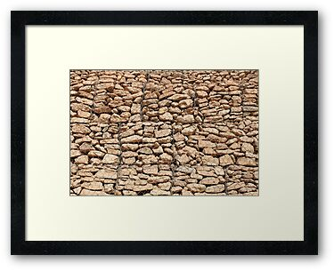 wall of gabions by mrivserg