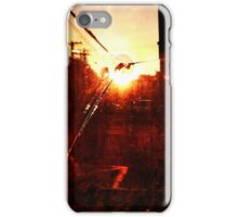 Broken Sunset - artistic iphone case iPhone Case/Skin