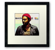 ODE TO MOTOWN: MARVIN GAYE Framed Print