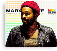 ODE TO MOTOWN: MARVIN GAYE Canvas Print