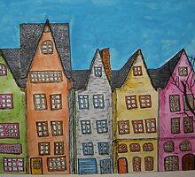 Five in a Row by ArtByWeller