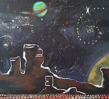 Spacescape by Keelie Webb
