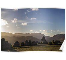Sunrise over Castlerigg Stone Circle (2) Poster