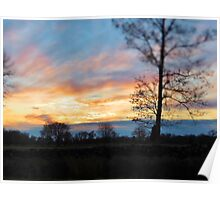 Jamestown Sunset Poster
