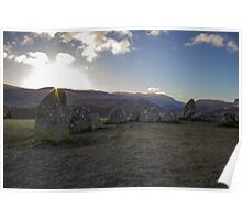 Sunrise over Castlerigg Stone Circle (6) Poster