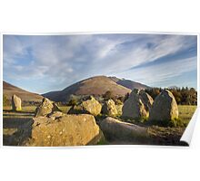Sunrise over Castlerigg Stone Circle (5) Poster