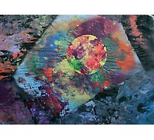 Planet radiating energy into angular space Photographic Print