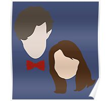 Doctor Who and Clara Oswin Oswald Poster