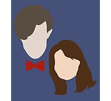 Doctor Who and Clara Oswin Oswald Photographic Print