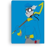 The Thieving Raccoon  Canvas Print