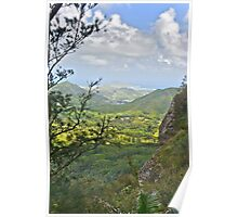 Kane'ohe Bay from Pali Lookout Poster