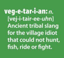 Vegetarian definition dictionairy T-Shirt