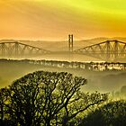 Bridges in the mist by weecritter