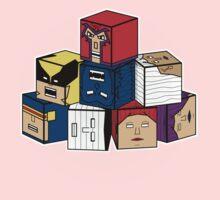 The Uncanny Blocks-Men Kids Tee